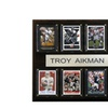 "NFL 12""x15"" Troy Aikman Dallas Cowboys 8 Card Plaque"