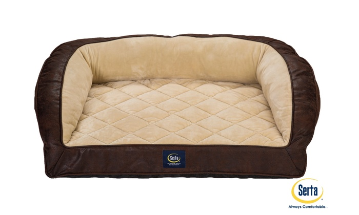 ... Serta Orthopedic Foam Couch Bed For Pets