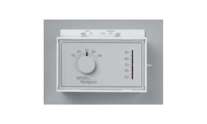 White-Rodgers1F56N-444Universal Horizontal Mechanical Thermostat