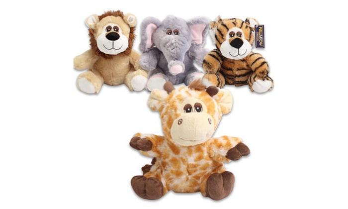 Kellytoy Plush Jungle Animal 4 Pack Groupon