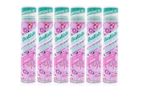 Batiste Original, Blush, Cherry & More Dry Shampoo (1-, 2-, 3-, or 6 -Pack)