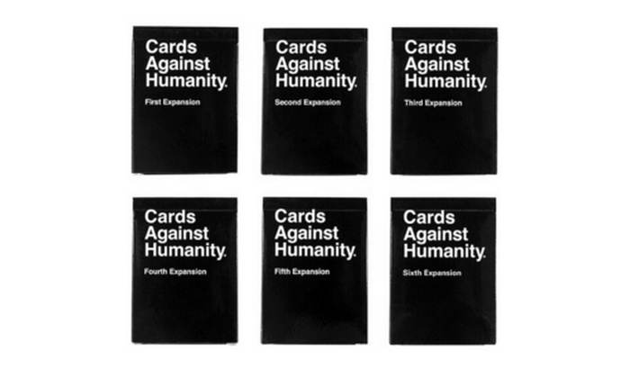 image relating to Cards Against Humanity Printable Expansions titled Playing cards In opposition to Humanity, Growth Packs 1-6