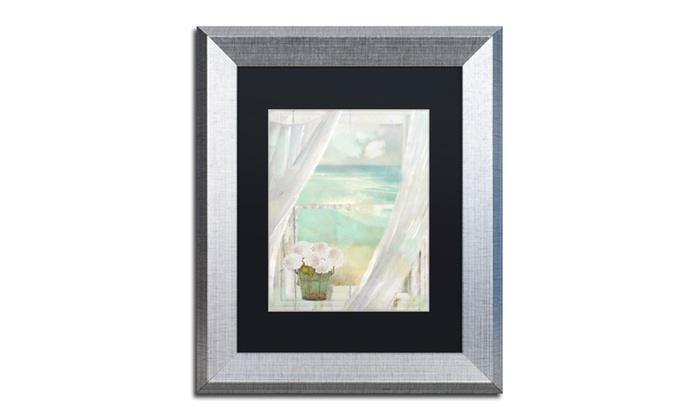 Groupon Goods: Color Bakery 'Summer Me II' Matted Silver Framed Art