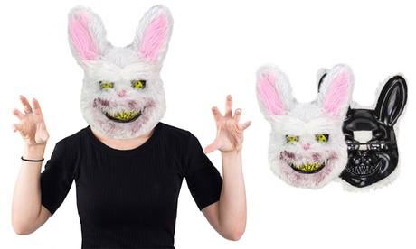 Halloween Creepy Bunny Mask Killer Bunny Spooky Mask Halloween Costume
