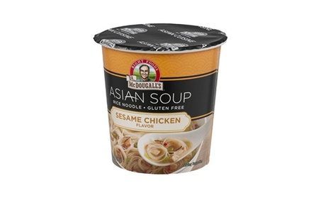 Dr. Mcdougall's Sesame Chicken Rice Noodle Asian Soup, 1.3 Ounce (Pack 2e529f4f-0a25-46c2-86f7-78754559c0f3