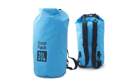 Zodaca 10L/20L Waterproof Outdoor Adventure Dry Bag for Boating Sports
