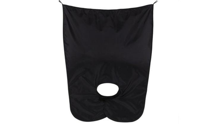 9 off on unique beard cape apron men 39 s groupon goods. Black Bedroom Furniture Sets. Home Design Ideas