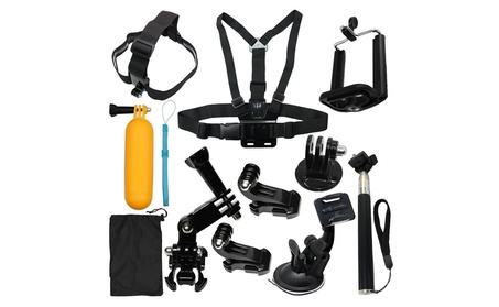 12-in-1 Sports Accessories Kit Bundle Attachments for Gopro Hero 525bbefc-8973-40be-a3ba-8b8ec3cc1eba