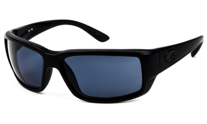 edf1a8070a1ba Costa Del Mar Fantail Polarized Blackout Men Sunglasses TF-01-OGP ...