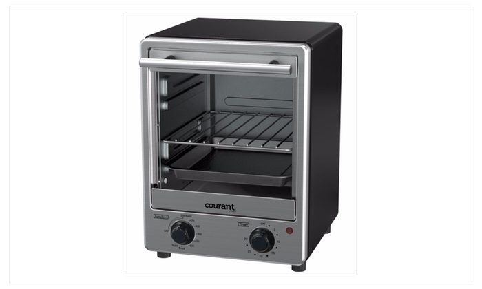 Toaster Ovens Home & Kitchen Courant Toaster Oven Space Saving ...