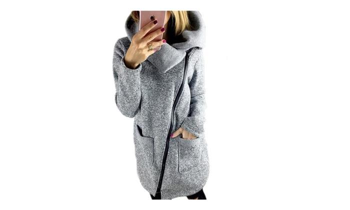 Keep Your Cool Side Zipper Outerwear