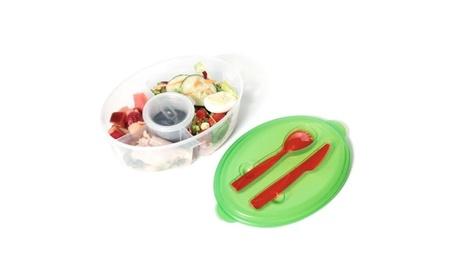 Fresh Salad On The Go Container 725acd1c-c45b-4f34-9330-cbd2575496f0