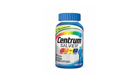 Centrum Silver 50& Men Multivitamin, 200 Count