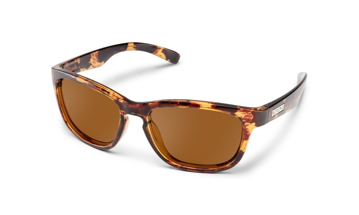 Suncloud Cinco Polarized Sunglasses Matte Black /& Grey