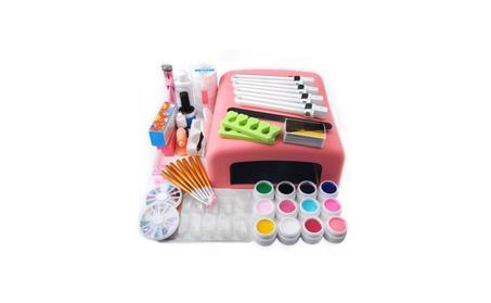 US Nail Art Tools Set 36W UV Lamp Dryer 12 Color UV Gel Nails 83c2f555-d2ff-4692-8d04-84b74471489f