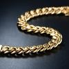 18K Gold Cuban Chain Bracelet by EUPHIR
