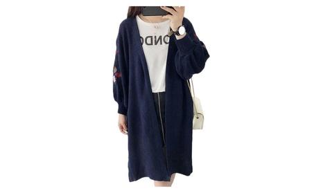 Loose Long Cardigans Knitwear Lantern Long Sleeve Sweaters 7ba2efdb-aa60-4f98-97d6-21669428f891
