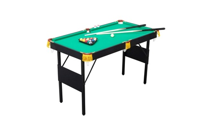 47 Inches Foldable Billiard/Pool Table Set, for Kids and Adult