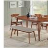 Flora Dining Set in Medium Oak (6-Piece)