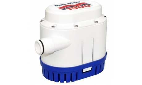 Rule RM1500A Rule-Mate 1500 Gph Fully Automated Bilge Pump - 12V photo