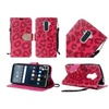 Insten Leopard Folio Leather Fabric Case For Lg G Stylo Hot Pink/black
