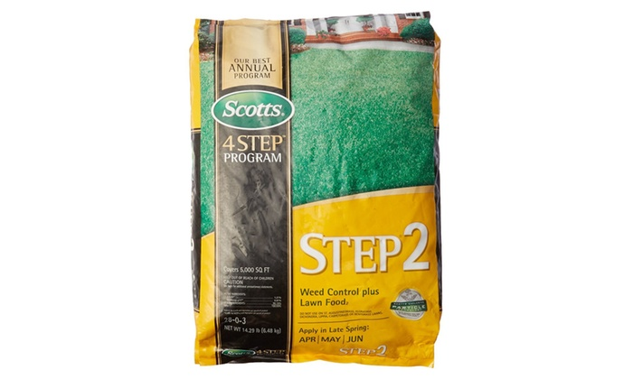 Scott 23616 Step 2 Weed Control Fertilizer Spring Cool Season Gr