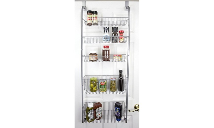 Home Basics Over The Door Pantry Organizer ...