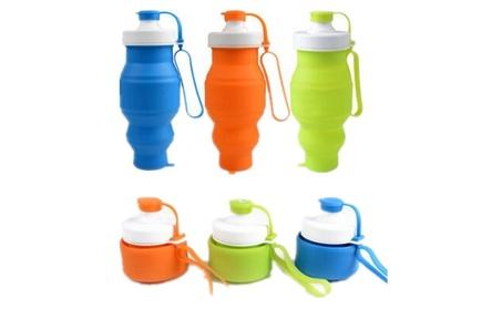 UNIQSTORE Collapsible Free Silicone Leak Proof Foldable Sports Bottle c36e9391-2ddc-4d20-924e-c6e4d51ea78b