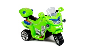 Lil' Rider FX 3 Wheel Motorcycle Battery Powered Bike - Green Ride on Toy 2-4 Ye
