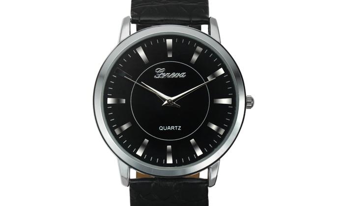 1ac4be65b Geneva Platinum Valais Men's Watch   Groupon