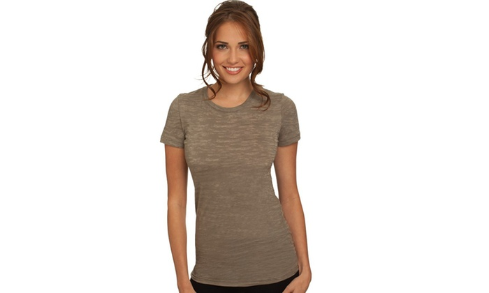 Next Level Womens Burnout Tee-Shirt, 6500-1