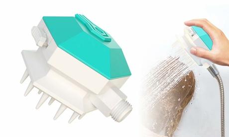 3 in 1 Pet Bath Brush Dog Shower Sprayer Attachment Pet Shampoo Dispenser Brush