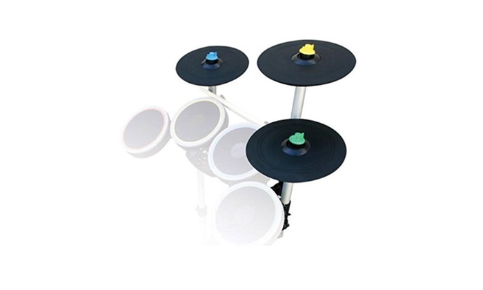 Rock Band 4 Pro-Cymbals Expansion Drum Kit PS4 Xbox One