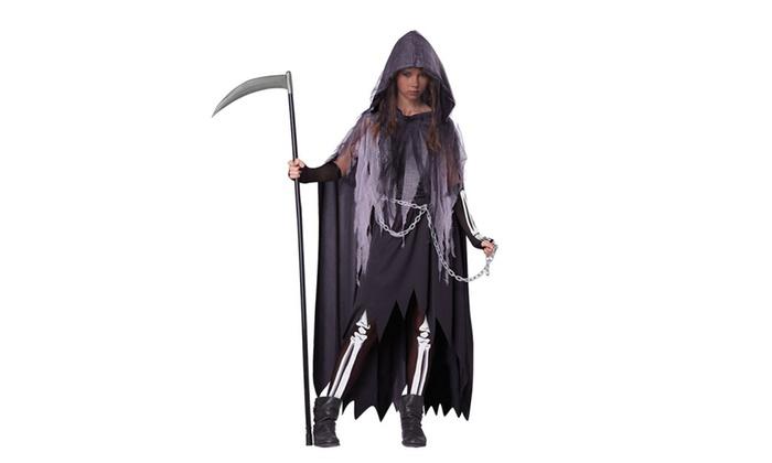 Halloween Costumes Miss Reaper Tween 04082