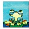 Sylvia Masek 'Frog's Lunch' Canvas Art
