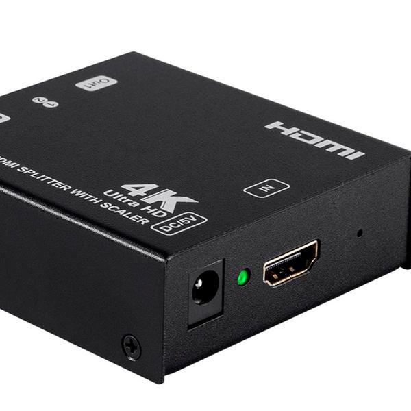 Monoprice Blackbird 4K 1x2 HDMI Splitter with 4K Upscaling