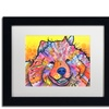 Dean Russo 'Benzi' Matted Black Framed Art