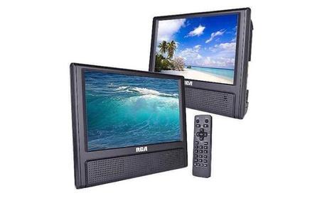 "RCA 9"" Dual Screen Mobile DVD Player 61ca12ed-6e5b-4ac5-bd9e-0db404e1fccb"