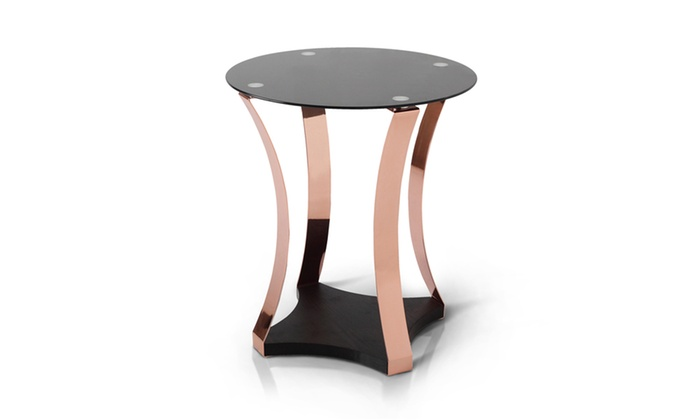 Bon ... Raphael Contemporary Curved End Table