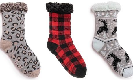 Muk Luks Women's Cabin Socks