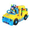 TOYK Truck Take Apart Toys for Boys Girl With Electric Drill and Vario