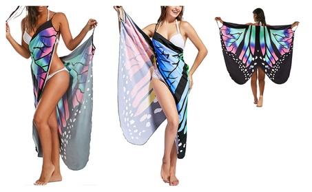 Butterfly Beach Wrap Cover Up Dress 7206a5f7-62e9-44fc-919a-863e5f0bee23
