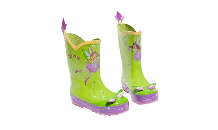 Clickhere2shop: Kidorable Children Fairy Rain Boots - Multi Color