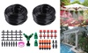 100Ft 30M Auto Drip Irrigation System Kits Timer Micro Sprinkler Garden Watering