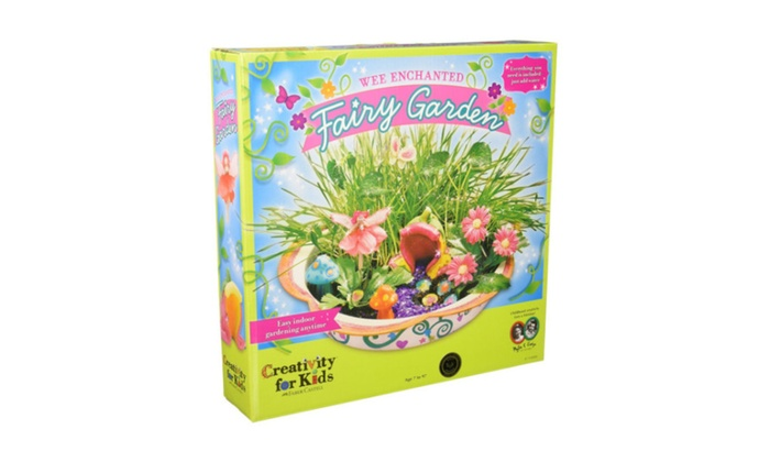 Enchanted Fairy Garden Kit