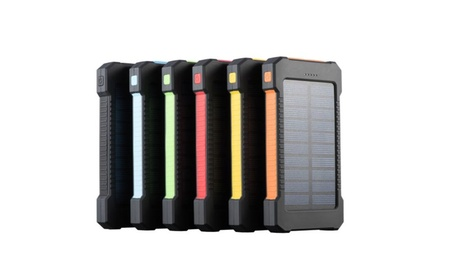 Outdoor Waterproof & Rugged 1200mAh Dual USB Solar Battery Charger 7cea2e1e-b0da-4ea3-a802-0d0421c77c46