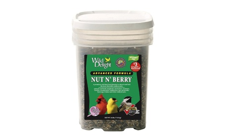 D Commodities Wild Delight Nut and Berry Wild Bird Food 16 Lb Pail (Goods Pet Supplies Bird Supplies) photo