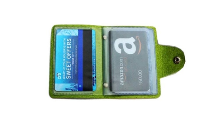 Fashionable Multicolor Unisex Credit Card Wallet