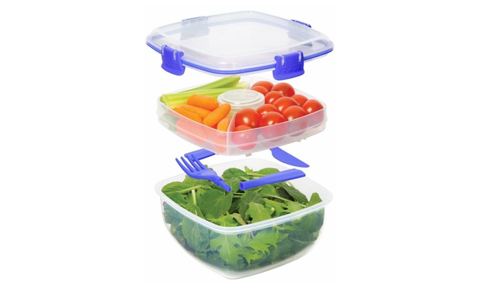 Salad to Go Food Storage Container Groupon