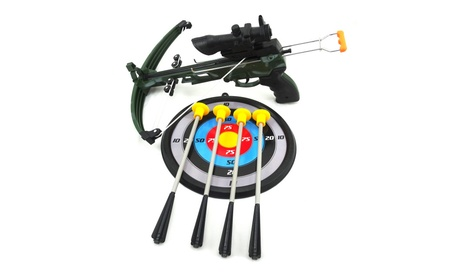 Kids Archery Bow and Arrow Toy Set with Target Military Toy Crossbow eb836979-495e-49b3-ac56-79de374a98aa